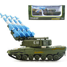 Air Defense Missile Tank Military Model Toy New 1/40 Scale Diecast KDW