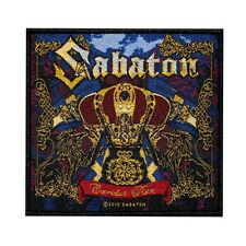 """Sabaton: Carolus Rex"" Metal Band Album Art Merchandise Sew On Applique Patch"