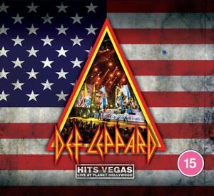 Def Leppard - Hits Vegas - New 2CD/Blu-ray