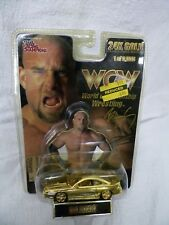RACING CHAMPIONS WCW 24K GOLD COBRA CHAMPIONSHIP EDITION GOLDBERG 1/64 SCALE