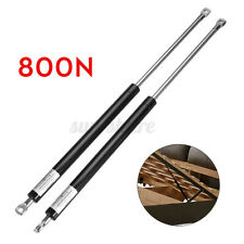 Pair Replacement Support Shock Gas Struts Piston For Ottoman Bed 800N 54cm