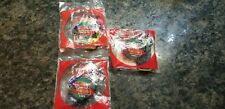 Lot of 3 Kellogg's Cereal Nascar Pull n Go Hot Wheels Cars