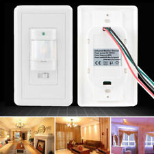 Auto On/Off Infrared PIR Occupancy Vacancy Motion Sensor Light Lamp Switch New