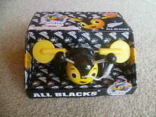 All Blacks Buzzy Bee Wooden Pull Along Toy