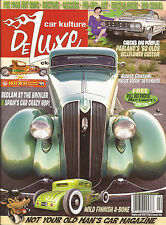 Car Kulture Deluxe #81. 1936 Plymouth. Mooneyes. 1958 Ranchero. 1962 Oldsmobile.