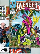 Avengers #278 and #279 VF