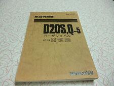 KOMATSU D20S-5 D20Q-5 PARTS MANUAL