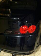 2006-07 for INFINITI G35 Coupe GTR Tail Light Overlays GLOSS BLACK Vinyl Film