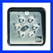 CAME S9000 surface-mounted recess wireless digital keypad with 4 storable codes