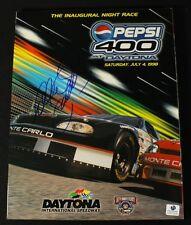 Dale Earnhardt Signed 1998 Pepsi 400 at Daytona Program