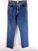 VTG Calvin Klein Women's Medium Wash Denim High Rise Mom Jeans Size 5