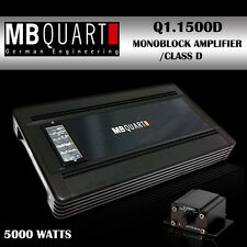 MB Quart  1x500W Multi Channel Car Amplifier