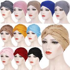 Womens Hair Scarf Cancer Chemo Cap Muslim Turban Hat Hijab Head Wrap Covers Hat
