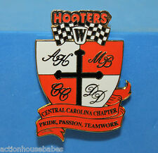 HOOTERS CENTRAL CAROLINA CHAPTER PRIDE PASSION TEAMWORK ALAN KULWICKI RACE PIN