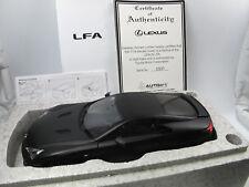 AUTOart 78832 - 2011 Lexus LFA Supersportwagen matt schwarz -  1/18 OVP