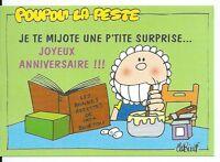 CPM - Carte postale - POUPON LA PESTE - illustrateur BINET- N° 06005