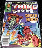 Marvel Two-In-One 80 (5.5) The Thing & Ghost Rider 1st Print Marvel Comics