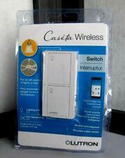 Lutron Caseta Wireless 5-Amp Single-Pole/3-Way White Residential Light Switch