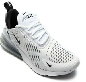 Nike Air Max 270 Herrenschuhe Turnschuhe Sneaker Weiß/Schwarz/Weiß NEU EU 46