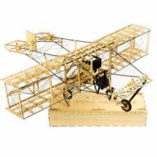 "Curtiss Pusher 21.6"" - 550mm Wingspan Balsa Wood Airplane Handicrafts KIT"