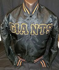 New York NY Giants Baseball Vintage Starter Jacket Cooperstown Collection Mens M