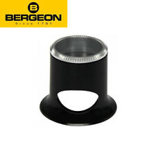 Bergeon 2611 Watchmakers Loupe Eye Magnifier with Removable Lens Aluminum Ring