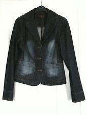 Oasis fitted denim blazer/jacket,size 8.
