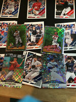 2019 Donruss Baseball Inserts, Variations, Nicknames, Orange and Red holo Stars