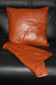 Leather Pillow Stylish Cover Case Cushion Throw Mermaid Sofa Glitter Home Decor
