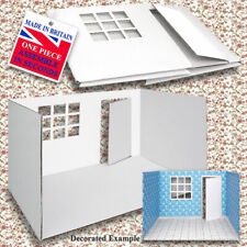 Dolls House Wallpaper ROOM BOX 1/12 Scale One Piece 60 Second Assembly, Style 2