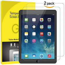 2x Screen Protector Tempered Glass for Apple iPad 9.7 5 6 Generation Air 1 2 Pro