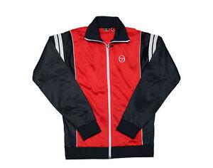 Sergio Tacchini Scirocco Archivio Tracktop Red/Navy Men's Jacket STM037707-0610