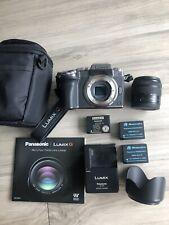 Panasonic Lumix G7 4k mirrorless camera with EXTRAS!