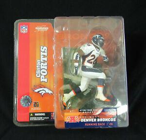 Denver Broncos Clinton Portis 2003 McFarlane Figure - NCAA Miami Hurricanes