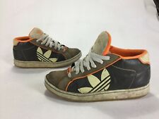 new arrival 7cf19 39cea Mens Primo Distressed Adidas Skateboarding Shoes Orange Brown Size 8