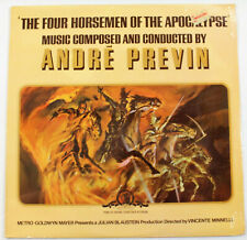 Four Horsemen of the Apocalypse - Movie Soundtrack by Andre Previn, VINYL NEW~!