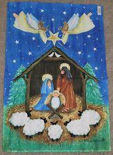 "Nativity Flag Standard Art House Flag  by Toland #0980 24""x36"""