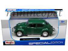 MAISTO 31926 VW VOLKSWAGEN BEETLE 1/24 DIECAST GREEN