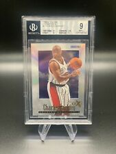 1996-97 E-X 2000 Credentials #23 Charles Barkley BGS 9 /499 POP 6 NONE HIGHER