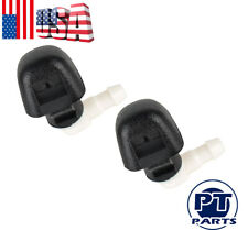 Pair of New Front Windshield Washer Spray Nozzle Jet For Honda Pilot 3.5L 09-15