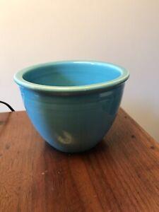 Vintage Fiesta Fiestaware RARE #1 Mixing Bowl Turquoise Blue, Inside Rings