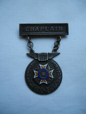 militaria rare insigne broche vétéran USAAF aumônier ww2 veteran chaplain badge