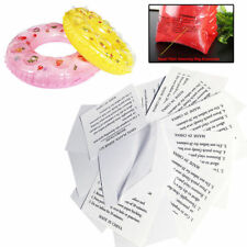 PVC 10pcs Vinyl Inflatable Swimming Pool Puncture Repair Patch Kit Airbeds Toys
