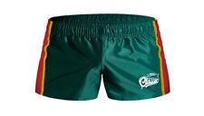 Neues AngebotAussieBum Rugby Blitz kurz grün Größe Large L Fußball Fitness Herren Shorts