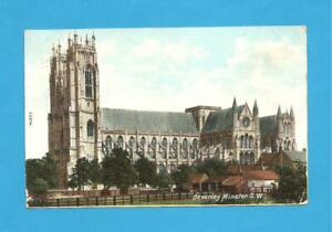 Beverley Minster S.W, Beverley, East Yorkshire. Postcard. 1905.