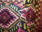AMAZING  1900 COLORFUL  TURKOMAN TORBA  FULL PILE WITH  GREAT COLORS