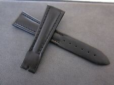 Breguet Black Leather strap 22mm Brand New