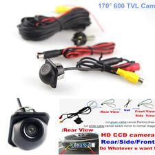 170° 600TVL CCD Auto Car Front/ Rear/ Side Backup Parking Hole Camera Waterproof
