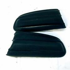 Mercedes Benz W123 Pair LH RH Rear Rubber Bumper Corner Guard OEM Used Black