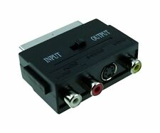 Gembird Ccv-4415 - Adapter SCART Plug to 3 RCA Jacks and 1 S-Video Jack Wit...
